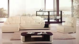 modern ivory white leather sectional sofa chaise
