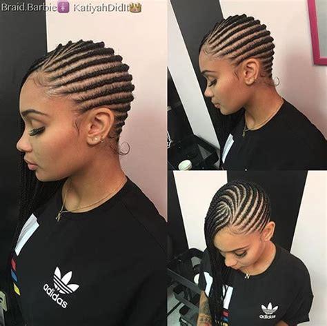 up sweep cornrow hairstyleson natural black hair dope braids via braid barbie black hair information
