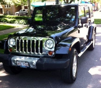 accident recorder 2009 jeep wrangler auto manual find used 2009 jeep wrangler 4wd unlimited sahara in wilmette illinois united states for us