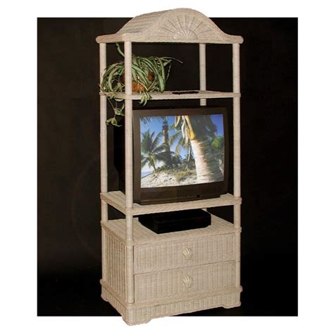 wicker tv armoire new wicker st croix armoire tv television standconsole ebay