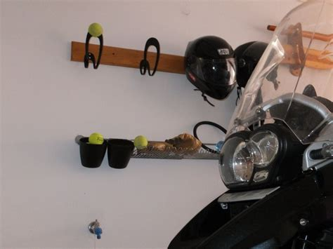 Garage Craft Room Ideas - easy diy helmet hanger ikea hackers ikea hackers