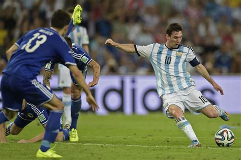lionel messi argentina world cup world cup lionel messi lifts argentina past bosnia