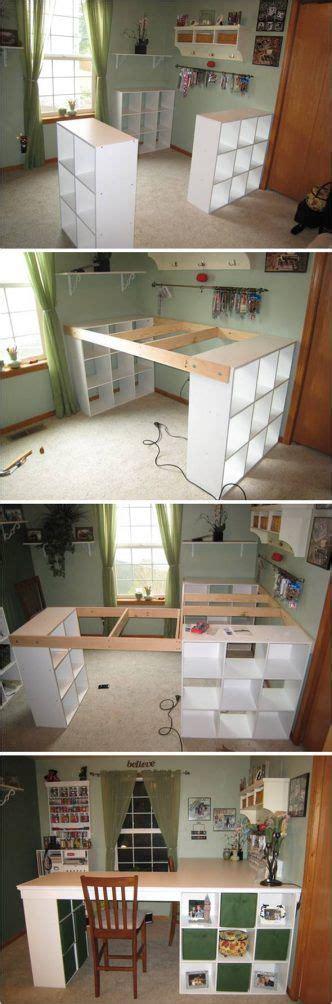 desk storage ideas 25 best ideas about craft desk on craft room