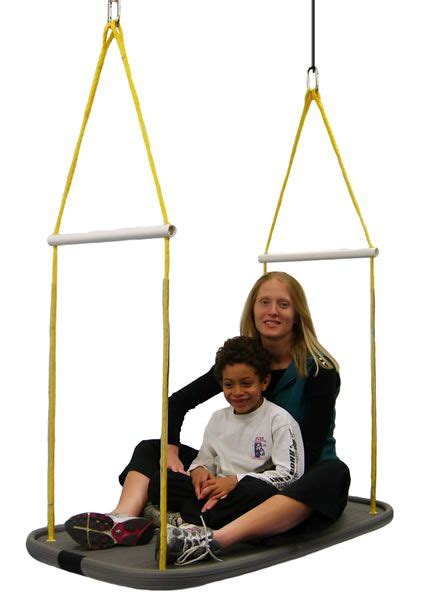 platform swings platform swing large organizing special needs pinterest