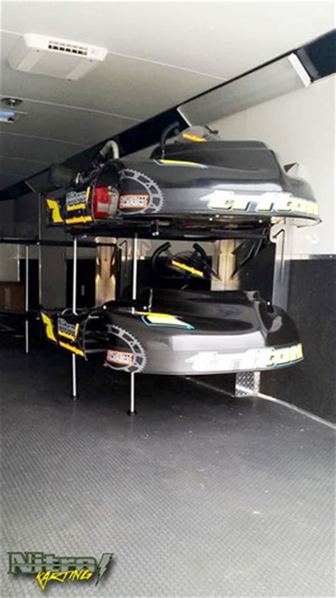 Kart Rack by Trailer Accessories Nitro Manufacturing