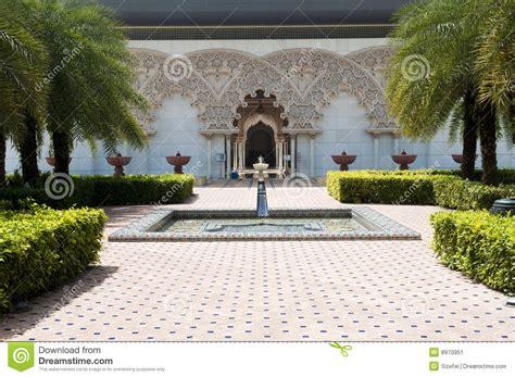 architektur garten marokkanische architektur innerer garten stockbild bild