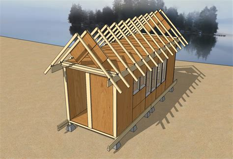 how to design a roof for a house uncut tiny house improved tiny house design