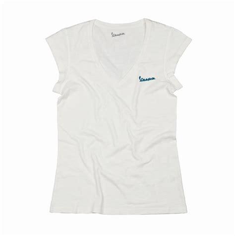T Shirt Vespa V t shirt vespa donna bianco collo v taglia s originale