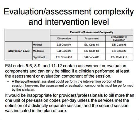 physical therapy evaluation 8 sle physical therapy evaluations sle templates