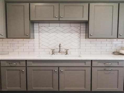 porcelain kitchen sink with backsplash kitchen sink backsplash tiles white herringbone gray