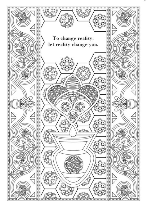 zen quote about colors 91 coloring page zen coloring page animal frato doodle printable colouring