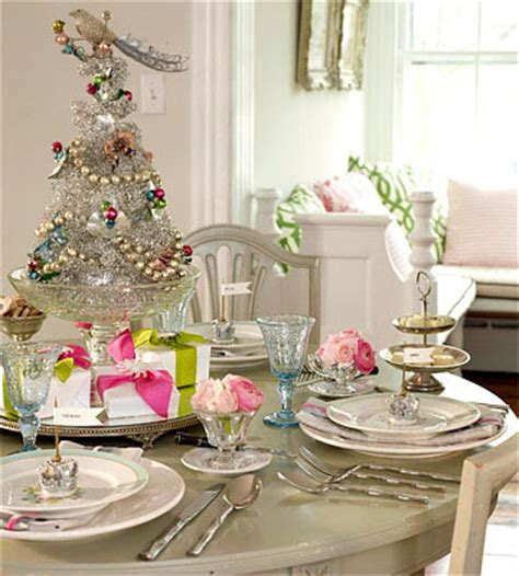 party resources set the perfect christmas table