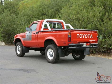 Vintage Toyota 4x4 Classic Toyota 4x4 Trucks