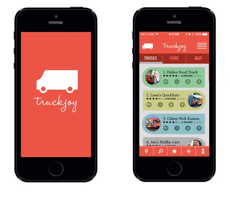 food truck design app akhilesh dakinedi graphic design