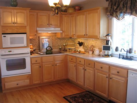 oak kitchen cabinet ideas decormagz pictures new color
