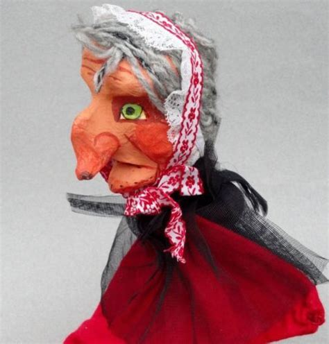 How To Make Paper Mache Puppets - details about hag witch paper mache puppet