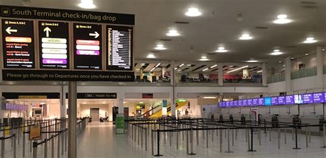 Bristol Airport Information Desk by Gatwick Airport South Terminal Information And Facilities