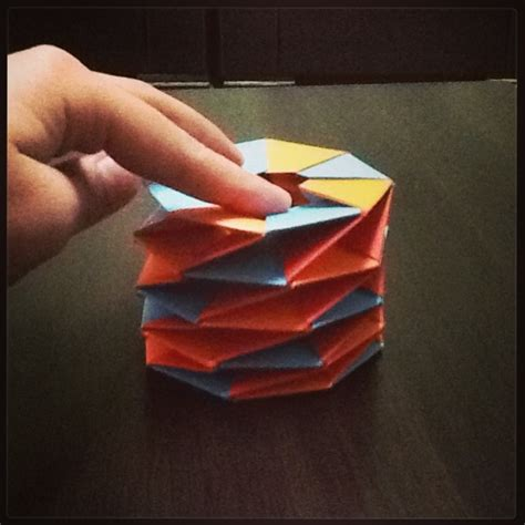 twisted origami origami twisted tower by aisenuragba on deviantart