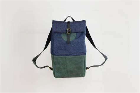 Backpack Denim Forest all fitzy
