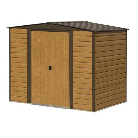 woodvale metal shed     garden storage