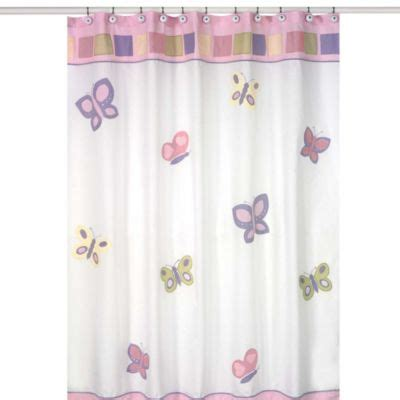 Purple Butterfly Curtains Buy Purple Shower Curtains From Bed Bath Beyond
