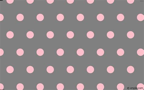 polka dot pattern pink grey wallpaper pink hexagon grey polka dots 808080 ffc0cb