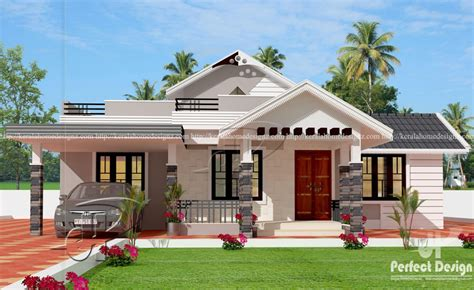 3 Bedroom Bungalow by One Storey House Design With Roof Deck Pinoy House