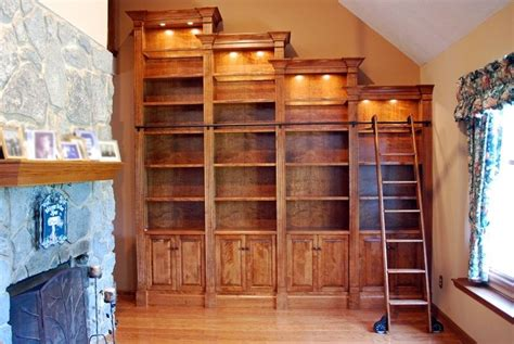 handmade stair step bookcase by r e wler custom