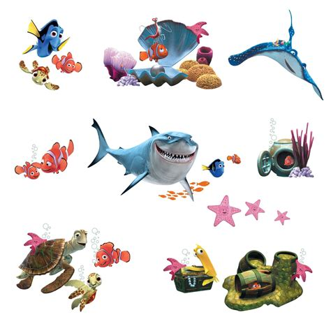 Find Pictures Of By Name Finding Nemo Characters With Pictures Coloring