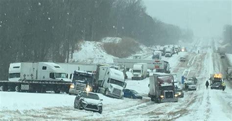 boat crash knoxville winter storm slams tennessee kentucky cbs news