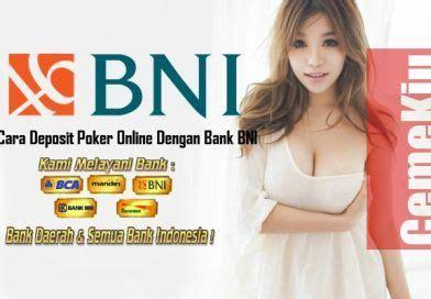 bandar taruhan poker bank bni  poker kartu game