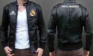 Jaket Kulit Eksklusif Real Madrid special offer jual jaket kulit club bola eropa harga