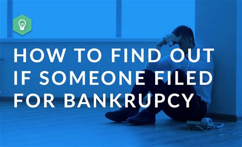 How To Find Bankruptcies On Records How To Find Out If Someone Filed Bankruptcy Bankruptcy Records