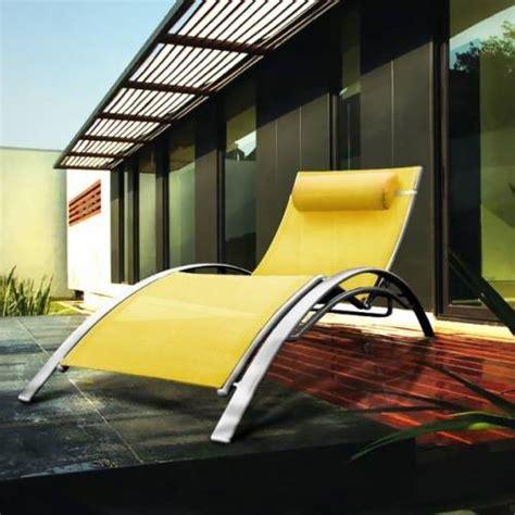 bain de soleil design jaune vente bain de soleil design