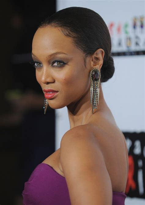 bun updos for black women tyra banks bun updo for thin hair hairstyles weekly