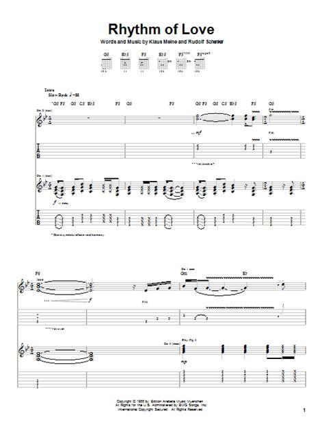 swing to the rhythm of love chords rhythm of love by scorpions guitar tab guitar instructor