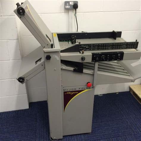 Paper Folding Machines For Sale - morgana major folding machine