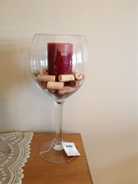 large wine glass centerpiece f s wine glasses centerpiece idea the knot