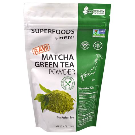 green tea matcha mrm matcha green tea powder 6 oz 170 g iherb
