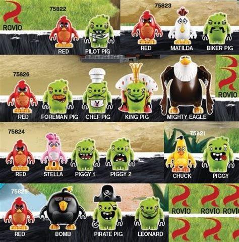 Lego Angry Bird Perahu Terbaru 2016 lego 2016 angry birds minifigures details lego angry birds 2016 angry birds