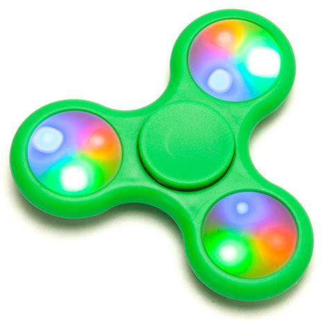 Fidget Spinner Lu Led Fidget Spinner Lu Led Spiner Premium world scout emblem led fidget spinner