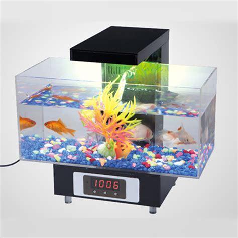 Colorful Fish Tanks Supply Of New Small Colorful Mini Usb Mini Aquarium Fish