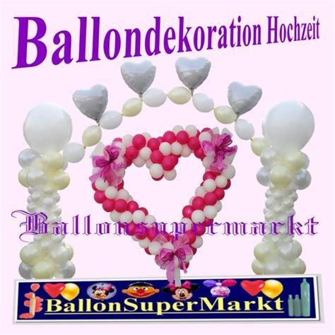Luftballons Hochzeit Deko by Deko Luftballons