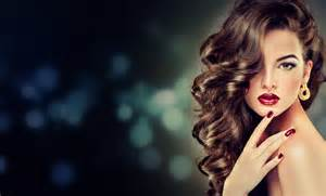 beautiful model brunette with long curled hair 5k retina
