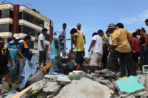 imagenes sorprendentes del terremoto en ecuador sismo en ecuador entre los 10 m 225 s letales de 250 ltimos 20