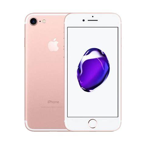Iphone 7 128rose Gold jual apple iphone 7 128 gb smartphone gold harga kualitas terjamin blibli