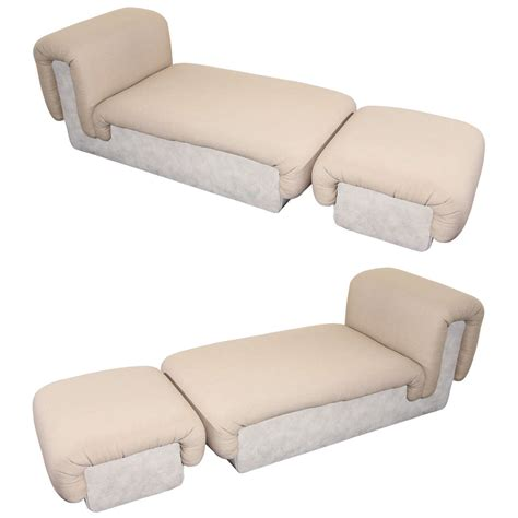 custom chaise pair of custom chaise lonuges by steve chase at 1stdibs