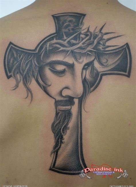 jesus cross tattoo artists org