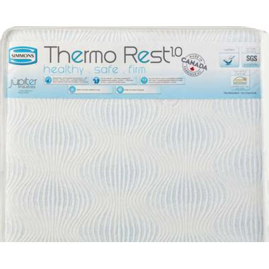 simmons 2 in 1 crib mattress buy simmons thermo rest delux crib mattress at well ca