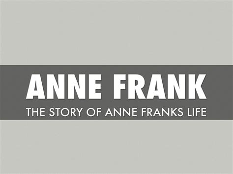 anne frank biography powerpoint anne frank ryan rigsby by ryan rigsby